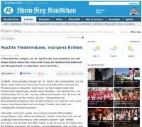 Website Rundschau Kröten