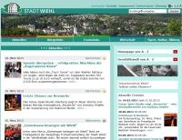 Website STADT WIEHL